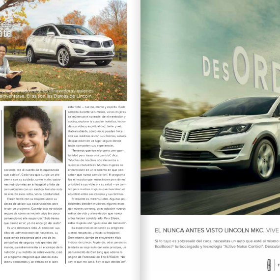 Lincoln Motors Vista Magazine