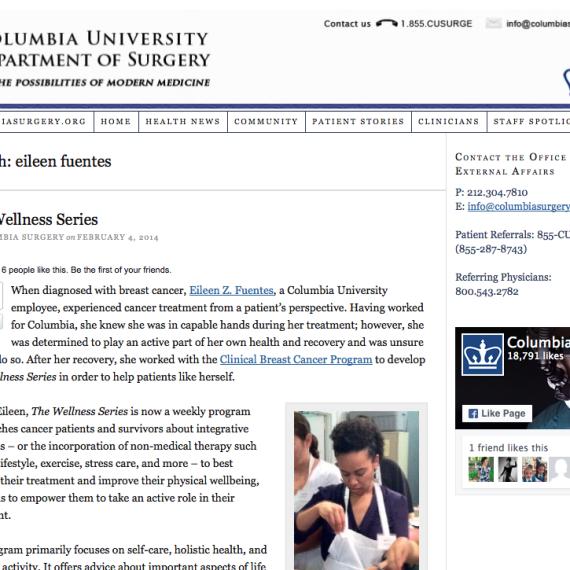 Columbia University Department of Surgery
